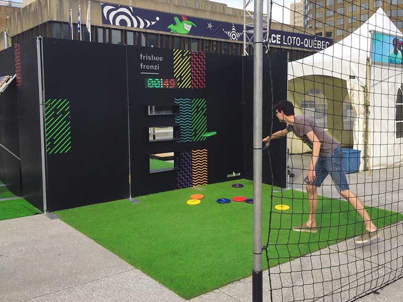 jeux Frisbee Frenzi