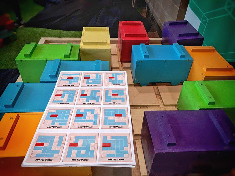 jeux Puzzle TGV