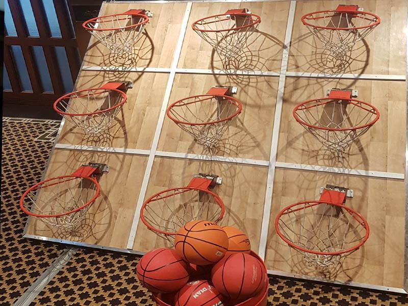 Jeu de Basket Tic Tac Toe