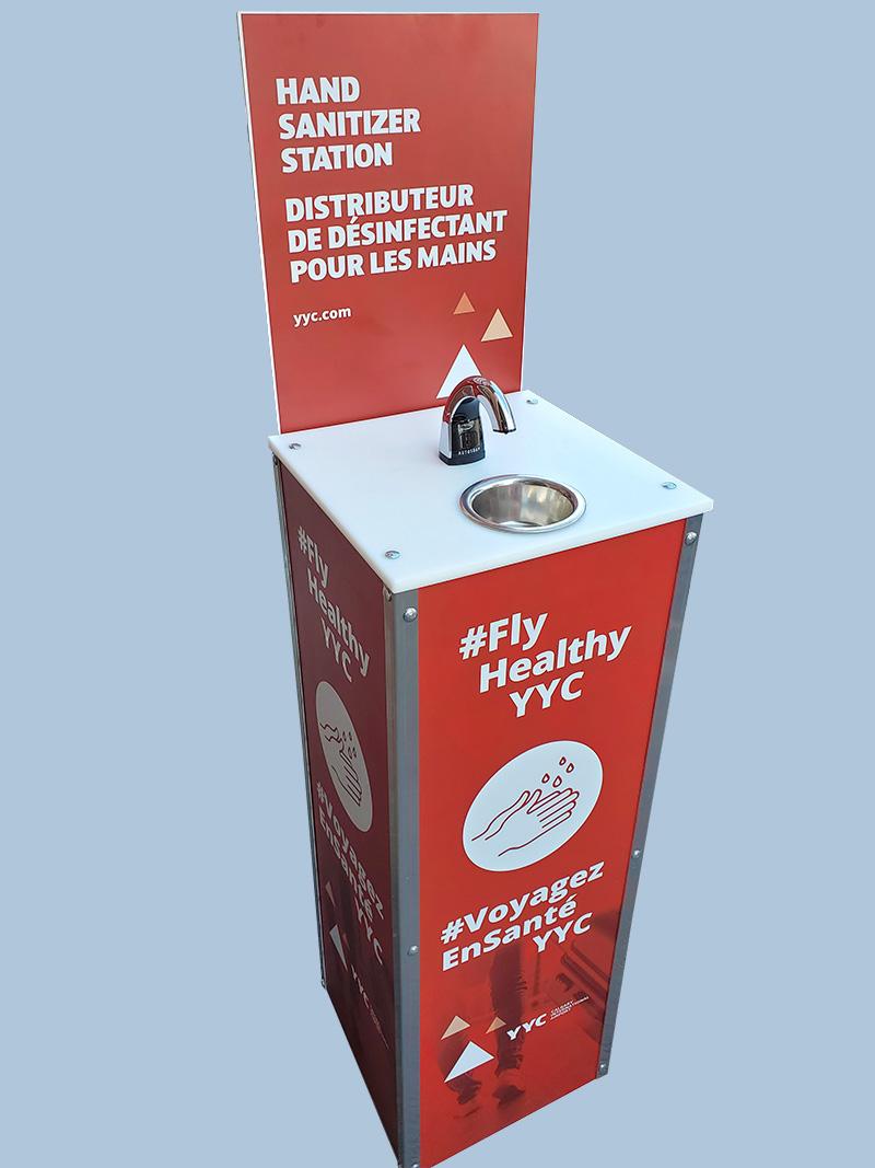 Sanibox distributeur désinfectant